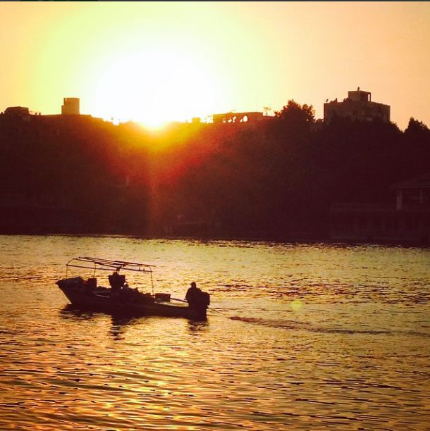 The last sunset of Divya's Egyptian adventure! And look how glorious it is. Her journey unarguably was a spectacular one and she explored most aspects of the beautiful country that Egypt is.