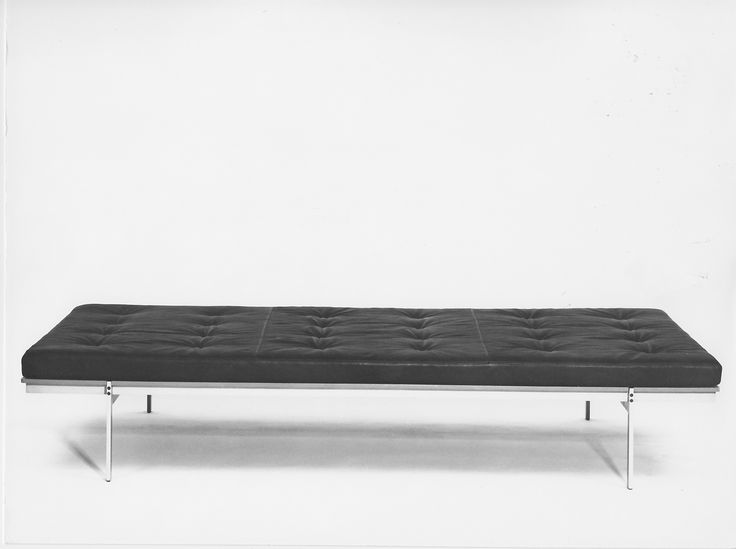 Daybed by Preben Fabricius and Jørgen Kastholm http://www.bo-ex.dk/project/daybed/