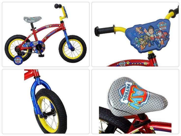 Boys Bike 12 Inch Paw Patrol Child Bicycle Training Wheels Toddler Outdoor Toy #Nickelodeon