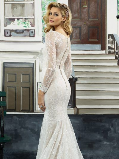 Justin Alexander 8959 Wedding 3 Wedding Dresses Crepe