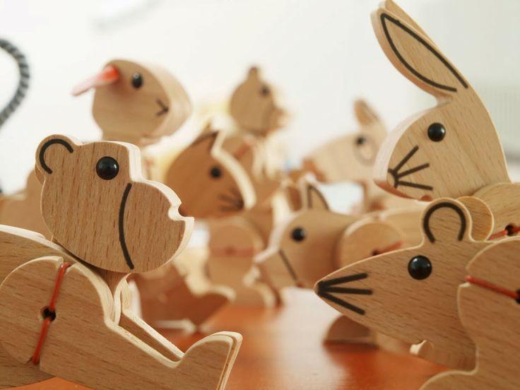 Ta.Ta. Unconventional Design For Kids: ANIMALI IN LEGNO MADE IN AUSTRIA