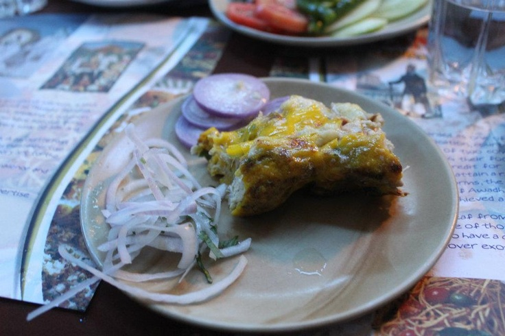 Chicken kebab with cheese. One of the innovations at Arslaan, Calcutta