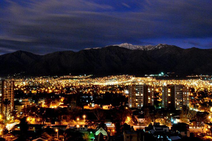 Santiago nocturno