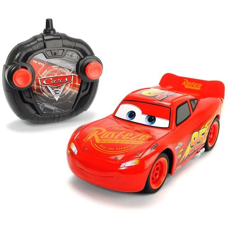 Cars 3 Macchina Radiocomandata Saetta McQueen 1:24 - Simba - Jocando