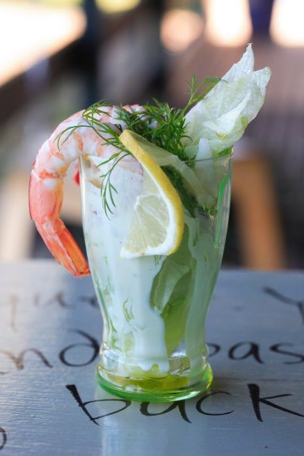 Prepare a quick and easy #Prawn Cocktail with #Verjuice #Mayonnaise, with this great #recipe from Maggie Beer.