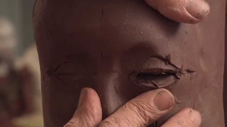 Two Ways to Sculpt Eyes on a Ceramic Figure - MELISA CADELL