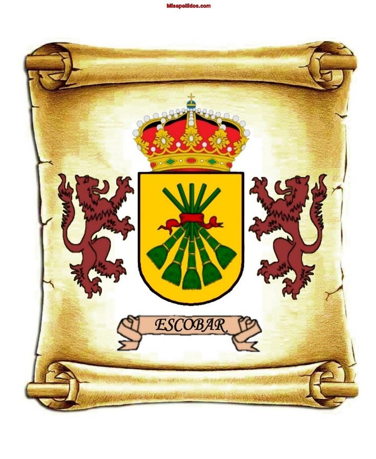 Escudo de la familia Escobar