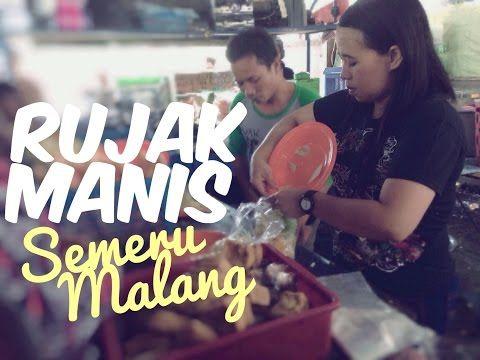 Rujak Manis Semeru Si Manis yang Banyak Digemari di Malang - Kuliner Malang