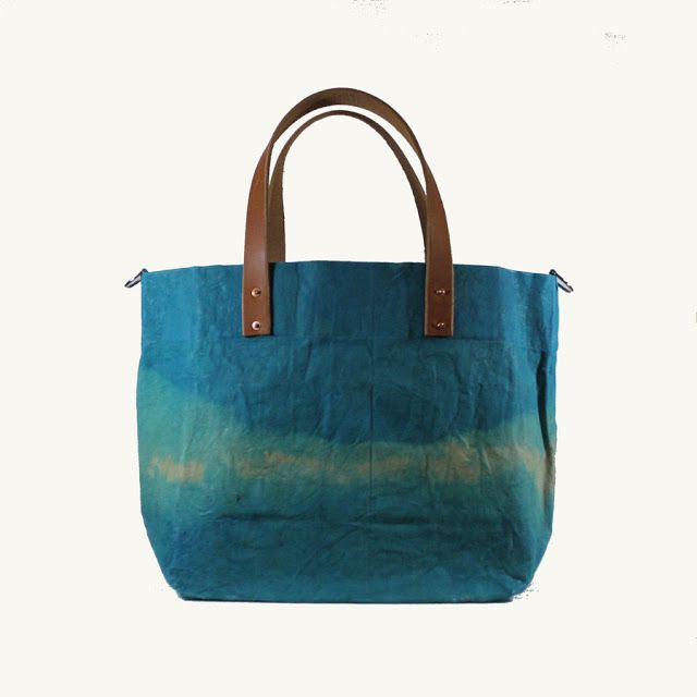 Large Waxed Canvas Bag from Anitgonish Bag Co.
