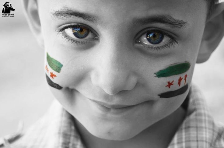 The smile on the children of Syria can never be vanquished! The fight for freedom is for their future!