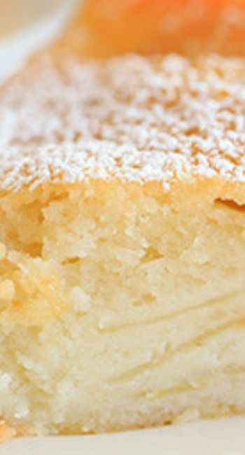 French Apple Cake - Part custard, part traditional cake and PACKED with apples!