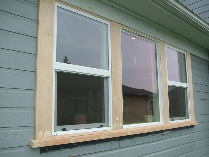 1000 ideas about exterior window trims on pinterest - Best wood for exterior window trim ...