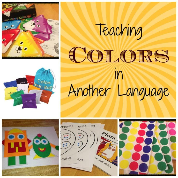Ideas for Teaching Colors in Another Language