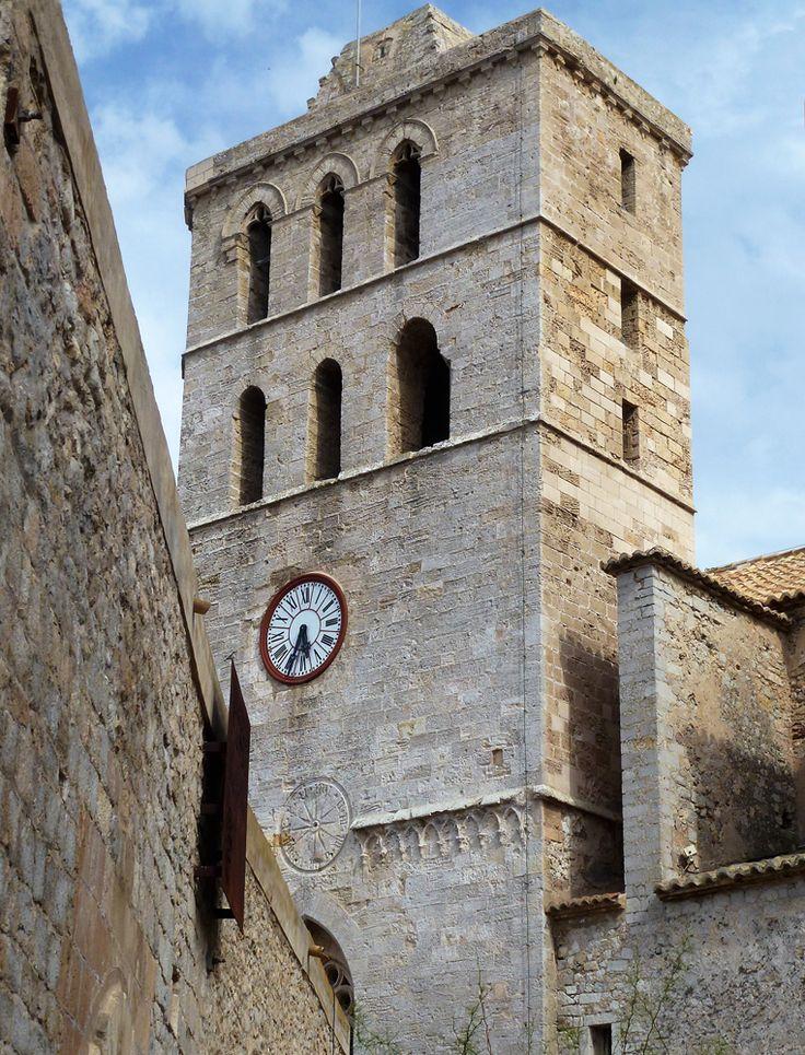 'Catedral de la Verge de les Neus' or better known as 'Catedral de Santa Maria D'Evissa' Dalt Vila Ibiza © Mireille Velthuis