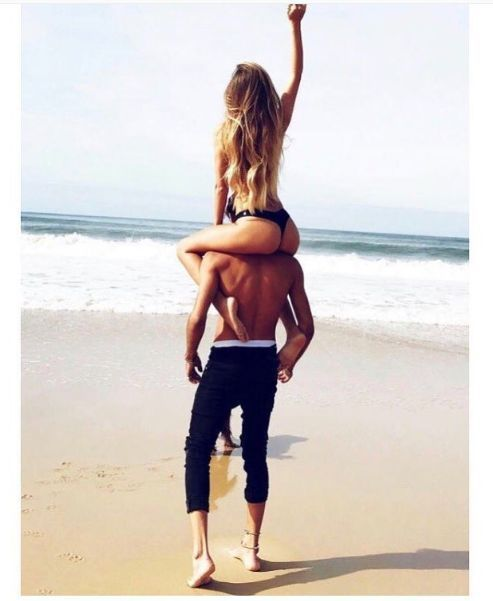 Relationship Goal. Summer Goal. Beach life. Bikini. Perfect day. Love. Power Couple. Holding eachother –  – #Uncategorized