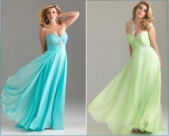 Шикарные платья для полных девушек