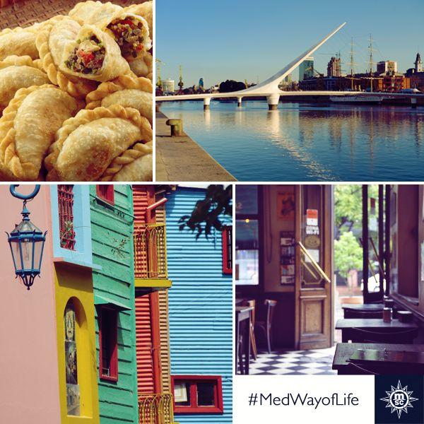 Buenos Aires est l'endroit idéal pour se promener, faire du shopping ou tout simplement profiter de l'ambiance unique qui y règne... #MSCMagnifica