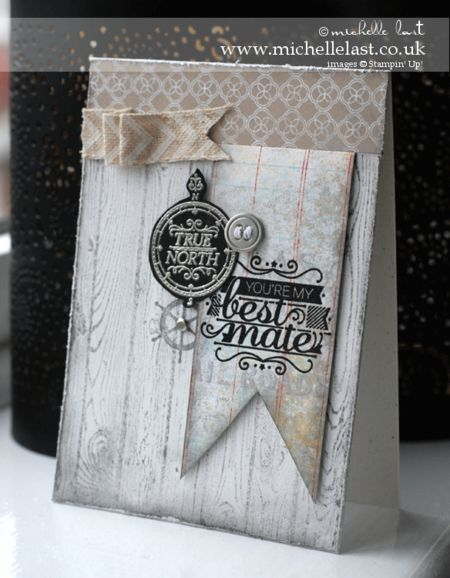 Hellosailor, bloghop, stampinup, menscard, michellelast, stampinupproducts, handmade card