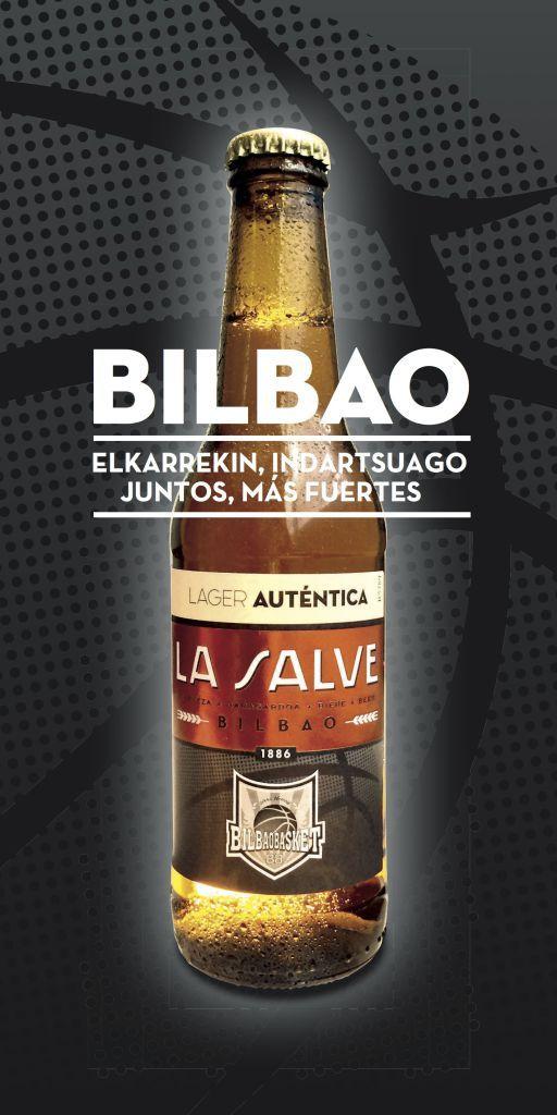 Cartel La Salve y Bilbao Basket