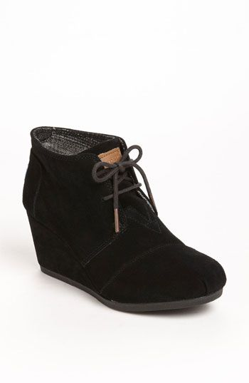 TOMS 'Desert' Bootie (Women) | Nordstrom- @Ashley Pines you were right they are super comfy - I had to get them :)