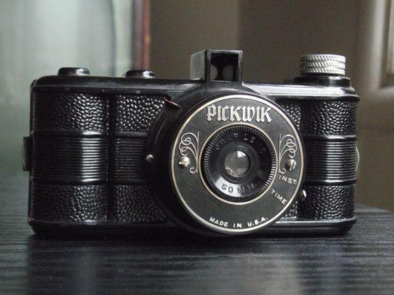 Vintage Pickwik HalfFrame Camera by JuniperHome on Etsy, $34.99