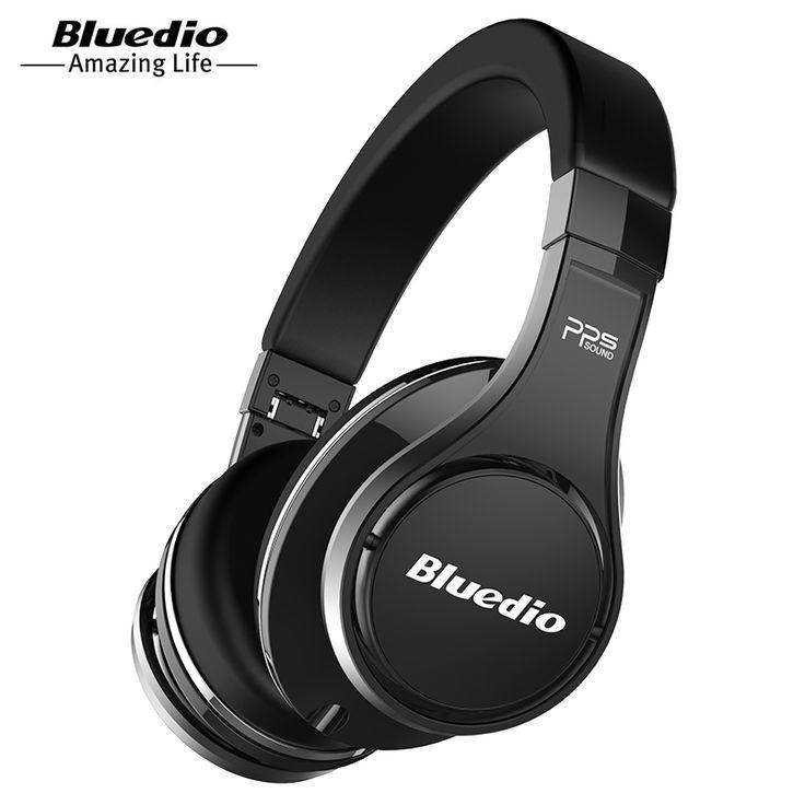Bluedio U(UFO)High-End Bluetooth headphone Patented 8 Drivers/3D Sound/Aluminum alloy/HiFi wireless Over-Ear headphone //Price: $95.15//     #onlineshop