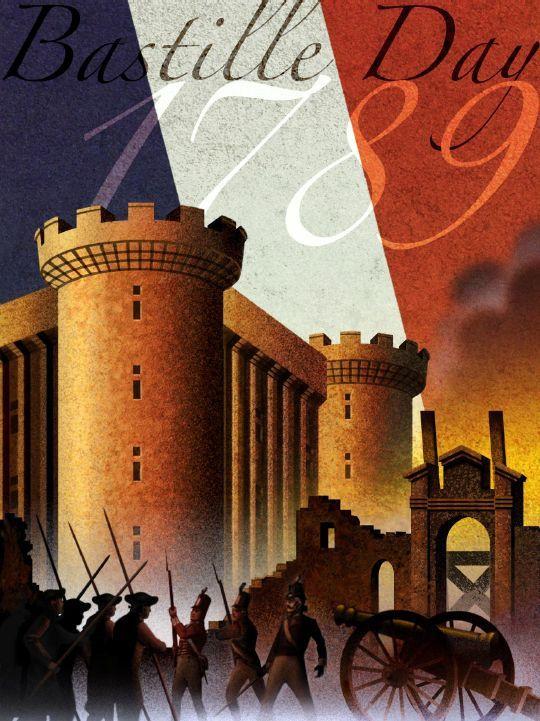 Bastille day posters brighten up your classroom with these bastille day posters vive la for Poster revolution france