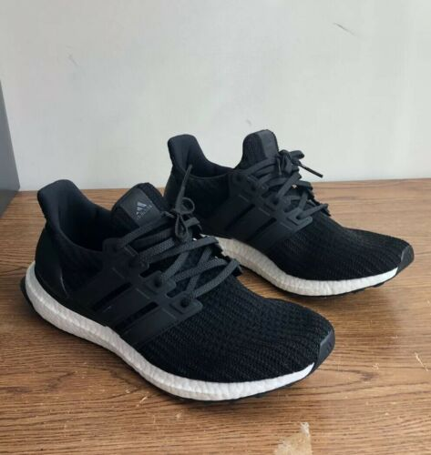 ba6ca6097 Men s ADIDAS UltraBoost Ultra Boost 4.0 Running Sneaker Black BB6166 - Size  10