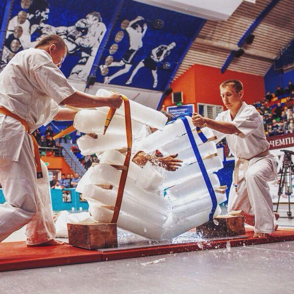 Karate report by Dmitry Belkin