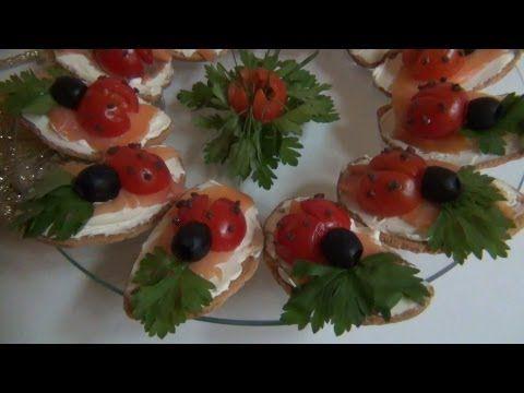 Antipasto Coccinelle,RICETTA SEMPLICE e VELOCE - YouTube