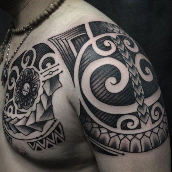 17 Best Ideas About Maori Tattoos On Pinterest