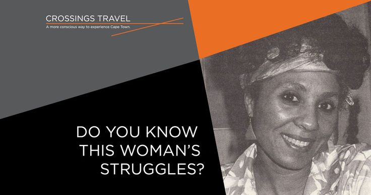 In celebration of women's month this August, Crossings Travel focuses on women in prisons during apartheid, with a special focus on Elaine Mohamed whose life was forever changed during her imprisonment.  Image sourced from ARS FEMINA – http://arsfemina.de/lives-courage/part-i