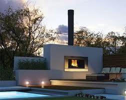 Best 25 Modern outdoor fireplace ideas on Pinterest Modern