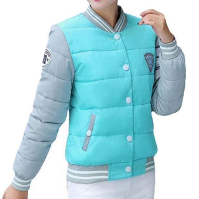 New fashion winter jacket woman uniform warm jackets Women Parka Coat cotton female parkas Women's jacket Manteau Femme