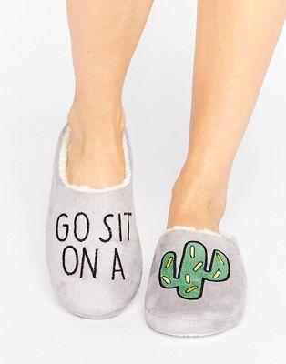 Daisy Street - Sit On A Cactus - Pantofole