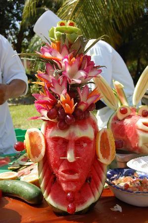 1000 id es sur le th me sculptures sur fruits sur - Liste fruits exotiques avec photos ...