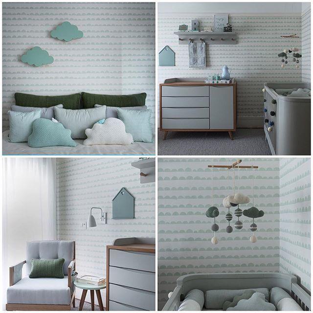 REGRAM #regram @soniamneves : Delicioso quarto de bebê, Projetado por…