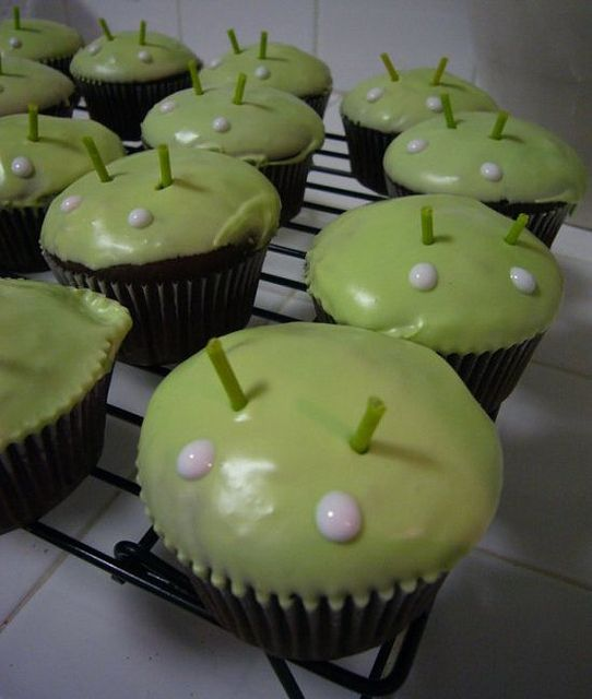 Android Cupcakes!!