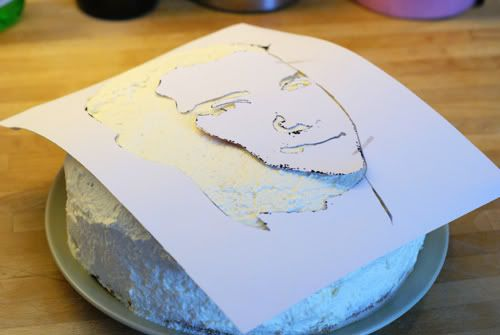 A Piece of Lisa: DIY+Recipe: How to Make a Face Cake
