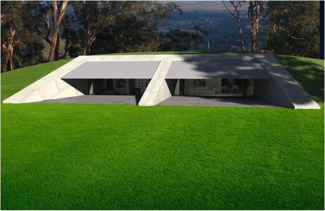 Bushfire Proof House Kinglake Bushfire Proof House Design Earth Sheltered Homes Earth Sheltered Earthship Home