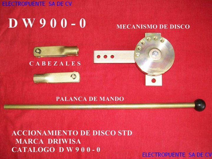 ACCIONAMIENTO DE DISCO STD DW900-0