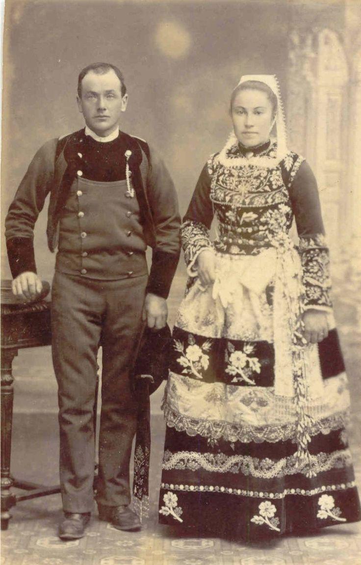 Costume glazik , 1910