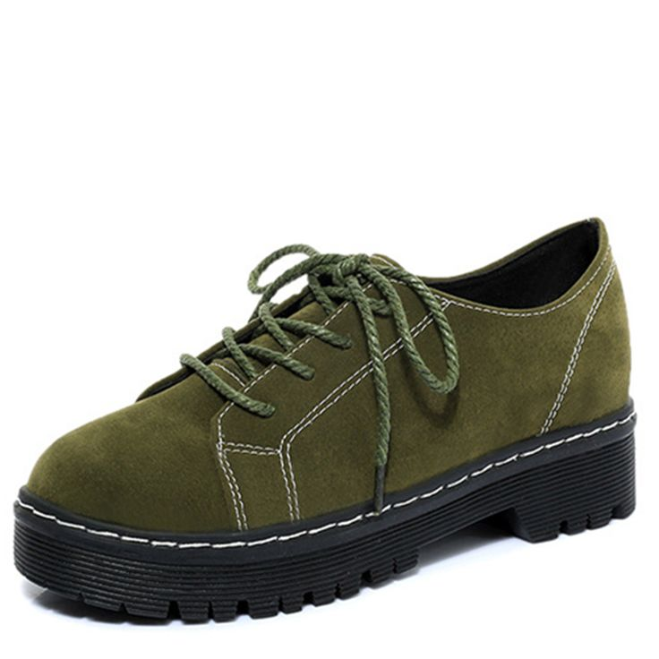 Discount Platform Flats Women Lace up Shoes Women Creepers Oxfords Black Casual Shoes 2017 New Spring Summer. Click visit to read descriptions