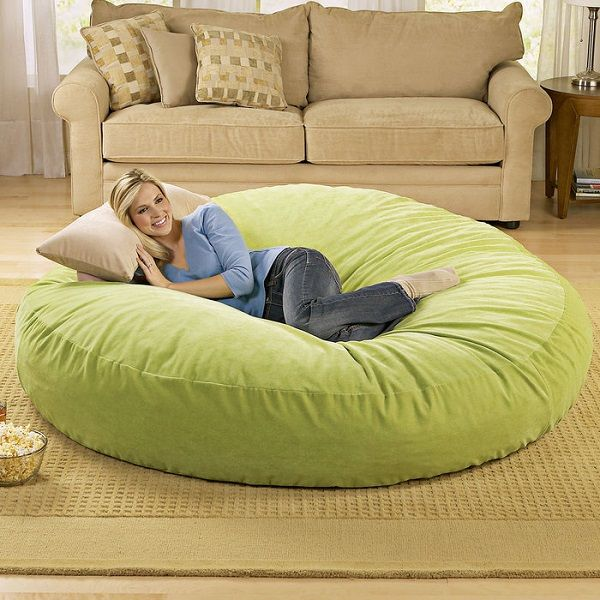 Giant Bean Bag Chair Lounger Cool Sh T Pinterest Bags And Home