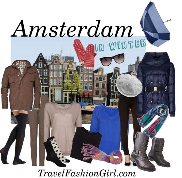 What to Pack when Traveling to Amsterdam in WINTER #travel #fashion #PackingList via TravelFashionGirl.com