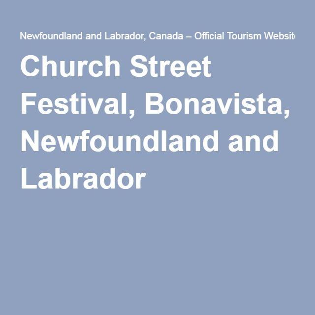 Church Street Festival, Bonavista, Newfoundland and Labrador