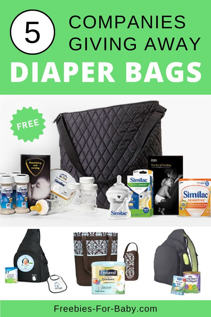 5 Free Diaper Bags Filled With Free Baby Stuff 2021 In 2021 Free Diapers Diaper Free Baby Free Diaper Bags