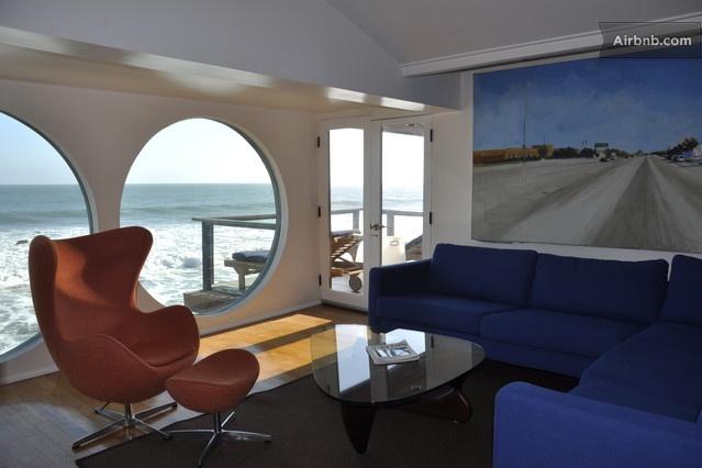 Ocean Front Malibu Beach House in Malibu from $390 per night