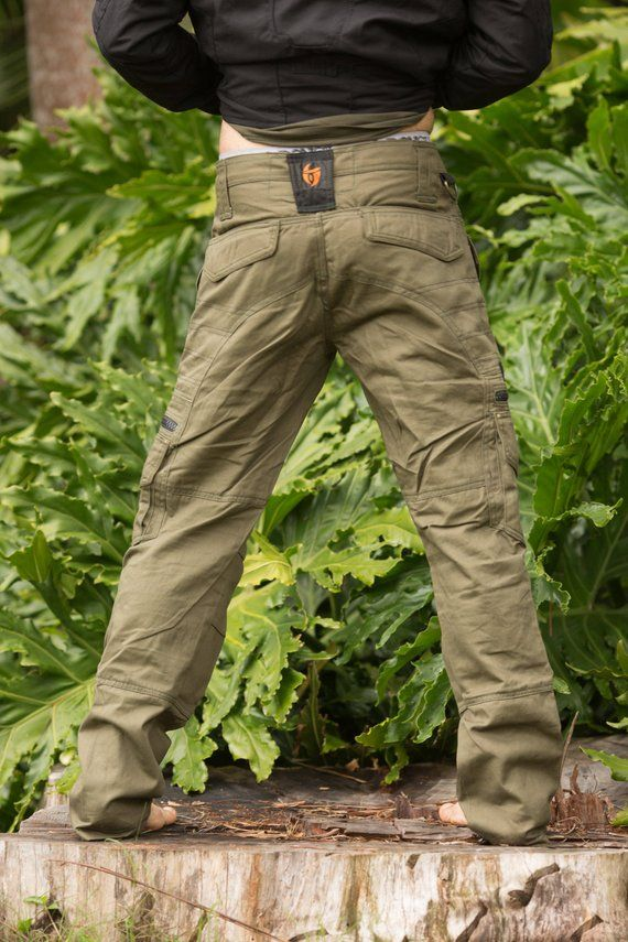 Touching Sounds Long Pants Olive Festival Clothing Men Etsy Mens Outdoor Clothing Mens Cargo Trousers Festival Outfits Men