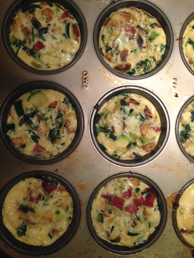 """The Urban Domestic Diva: FMD progress: My Pumped Up Version of the Fast Metabolism Diet's Loaded """"Egg White Muffins"""", Phase 2"""